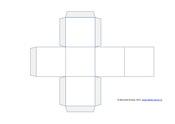 Куб из бумаги