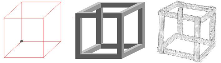 Куб Эшера «Сумасшедший ящик»
