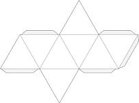 Геометрические фигуры из бумаги своими руками схема