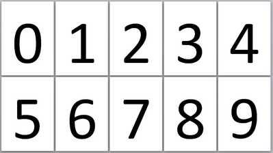 Без названия — Шаблон цифры для детей ...