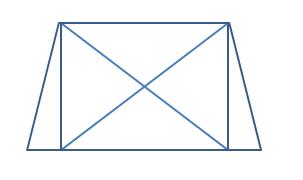 Найди площадь четырехугольников изображенных на рисунке