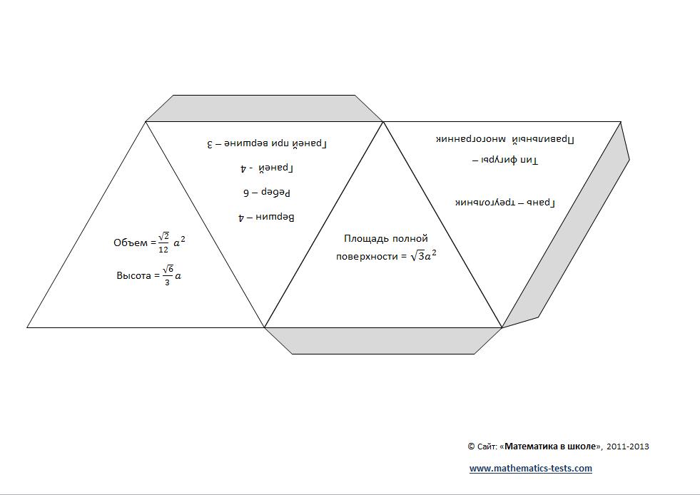 Октаэдр, как сделать из бумаги? видео уроки