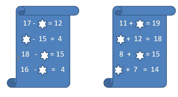 как решать примеры со знаком плюс минус